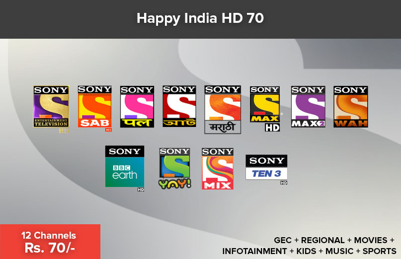 Happy India HD 70