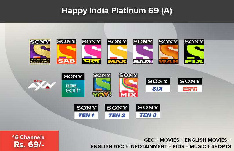 Happy India Platinum 69 (A)