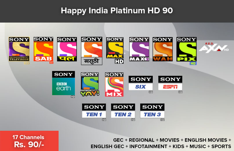 Happy India Platinum HD 90
