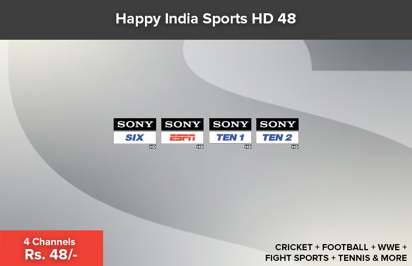 Happy India Sports HD 48