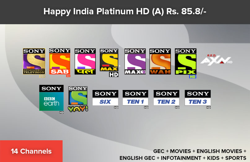 Happy India Platinum HD 90 (A)